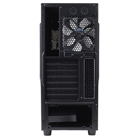 ZALMAN Z1 Mid Tower, ATX, USB3.0 x1, 120mm Fan x2, видео карты до 360мм, SSD support, black color 00000077084