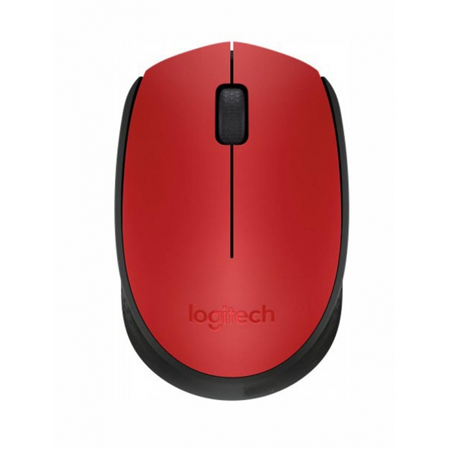 Logitech Wireless Mouse M171, Red (910-004641) 00000162814