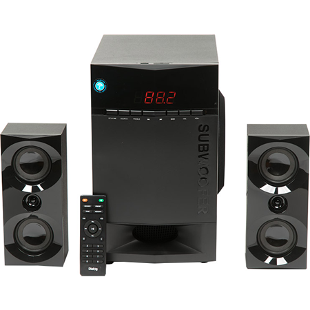 Dialog Progressive AP-230 BLACK (2.1, 35W+2*15W RMS, Bluetooth, USB+SD reader) 00000086984